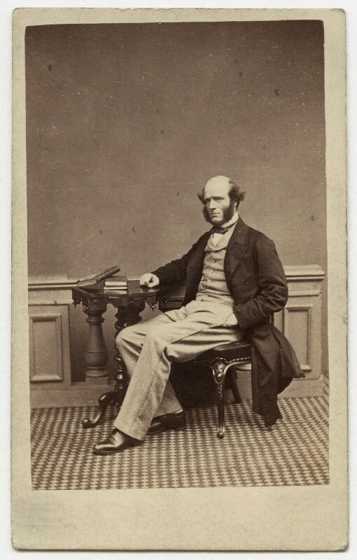 Thomas Hughes, by London Stereoscopic & Photographic Company, 1860s - NPG x11990 - © National Portrait Gallery, London
