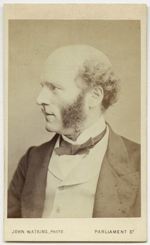 Thomas Hughes, by John Watkins, 1860s - NPG Ax17756 - © National Portrait Gallery, London