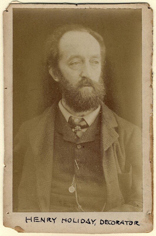 Henry Holiday, by Unknown photographer, 1870s - NPG x18530 - © National Portrait Gallery, London