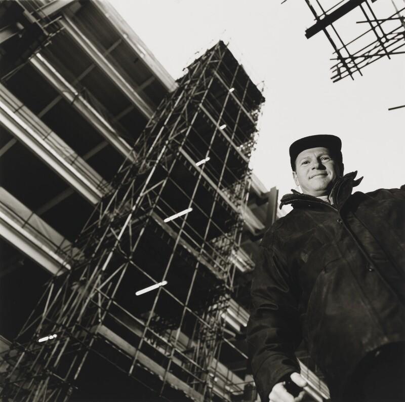 Gerald ('Gerry') Altmann, by Louise Bobbé, 21 December 2000 - NPG x88883 - © National Portrait Gallery, London