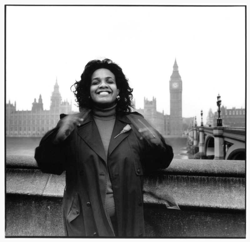 Diane Abbott, by Geoff Wilson, April 1992 - NPG x76443 - © Geoff Wilson