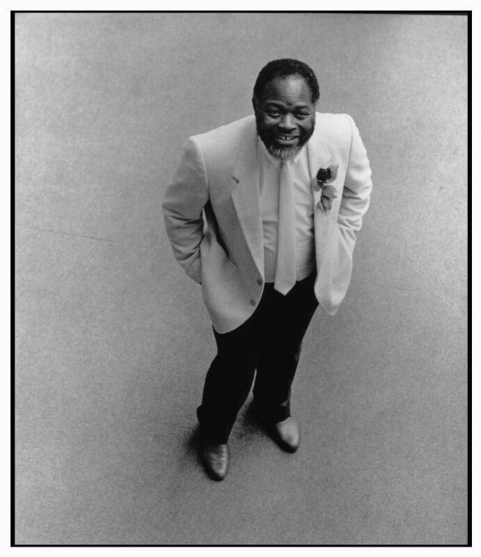 Bernie Grant, by Geoff Wilson, May 1987 - NPG x76445 - © Geoff Wilson