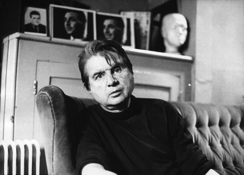 Francis Bacon, by Peter Stark, 1975 - NPG x1532 - © Peter Stark