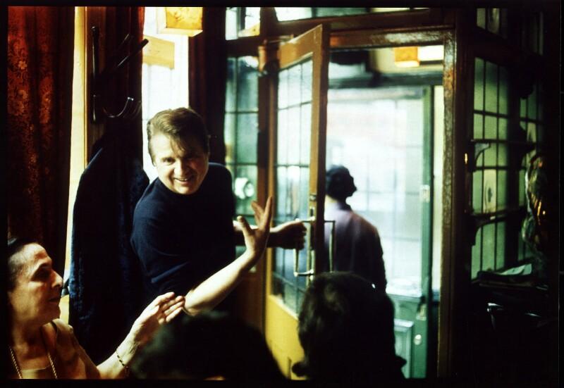 Muriel Belcher; Francis Bacon, by Peter Stark, 1975 - NPG x1529 - © Peter Stark