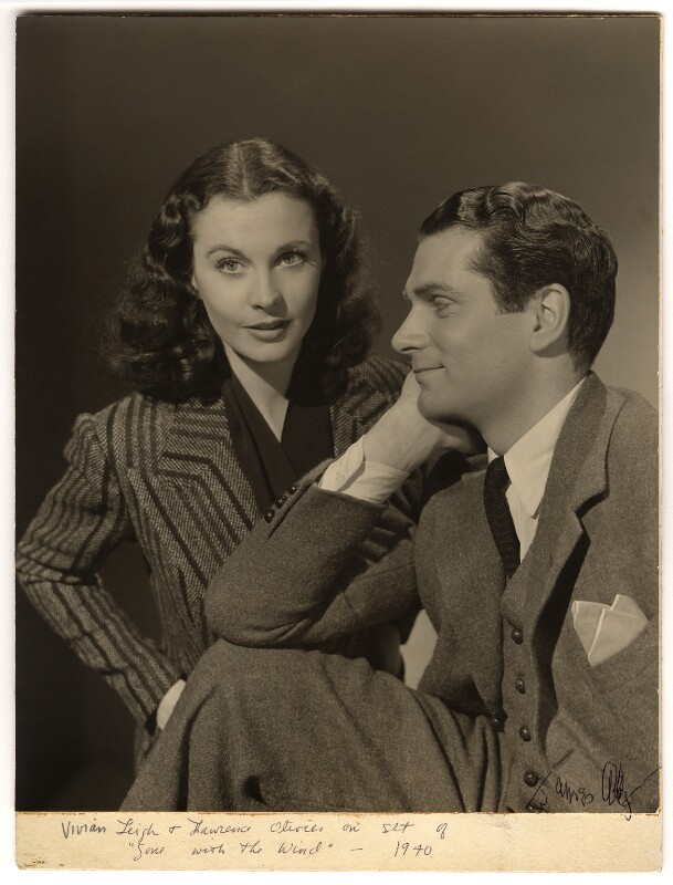Vivien Leigh; Laurence Kerr Olivier, Baron Olivier, by James Abbe Jr, 1939 - NPG x88923 - © estate of James Abbe