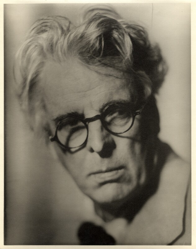W.B. Yeats, by Howard Coster, 1935 - NPG x1962 - © National Portrait Gallery, London
