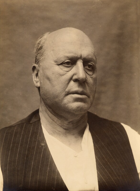 Henry James, by Frederic Hilaire D'Arcis, 1913 - NPG x18721 - © National Portrait Gallery, London