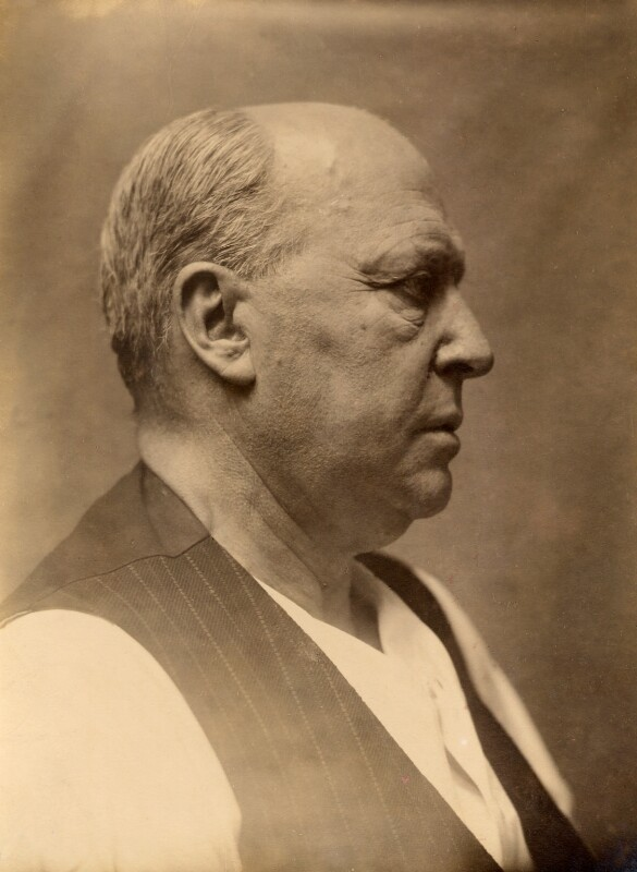 Henry James, by Frederic Hilaire D'Arcis, 1913 - NPG x18722 - © National Portrait Gallery, London
