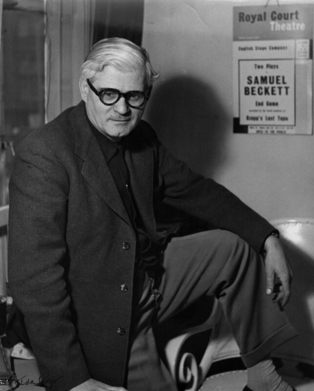 George Devine, by Ida Kar, 1958 - NPG x88933 - © National Portrait Gallery, London
