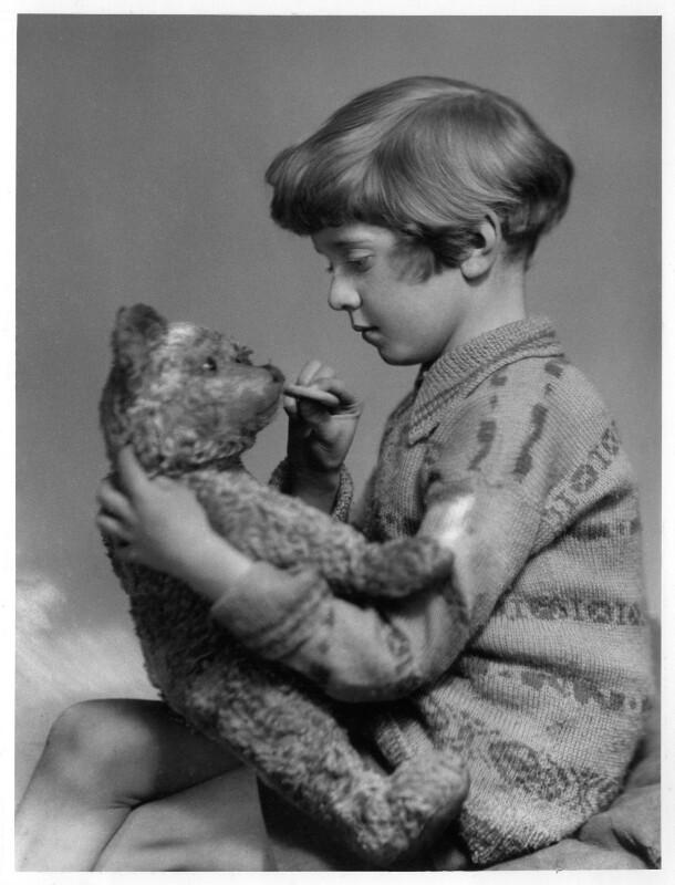 Christopher Robin Milne, by Marcus Adams, 14 March 1928 - NPG x36152 - © estate of Marcus Adams / Camera Press