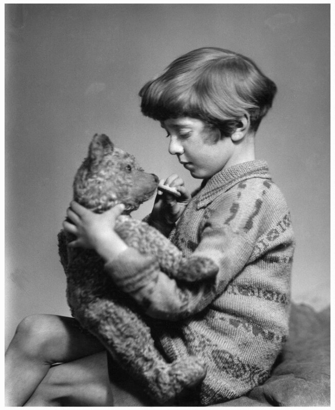 Christopher Robin Milne, by Marcus Adams, 14 March 1928 - NPG x36166 - © estate of Marcus Adams / Camera Press