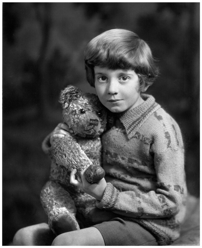 Christopher Robin Milne, by Marcus Adams, 14 March 1928 - NPG x36151 - © estate of Marcus Adams / Camera Press