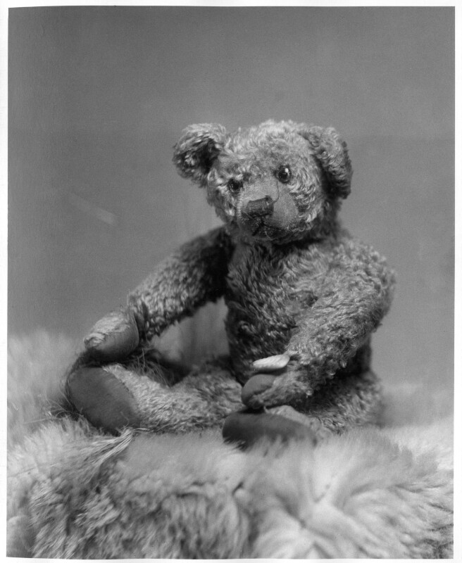 Christopher Robin Milne's Pooh Bear, by Marcus Adams, 14 March 1928 - NPG x36163 - © estate of Marcus Adams / Camera Press