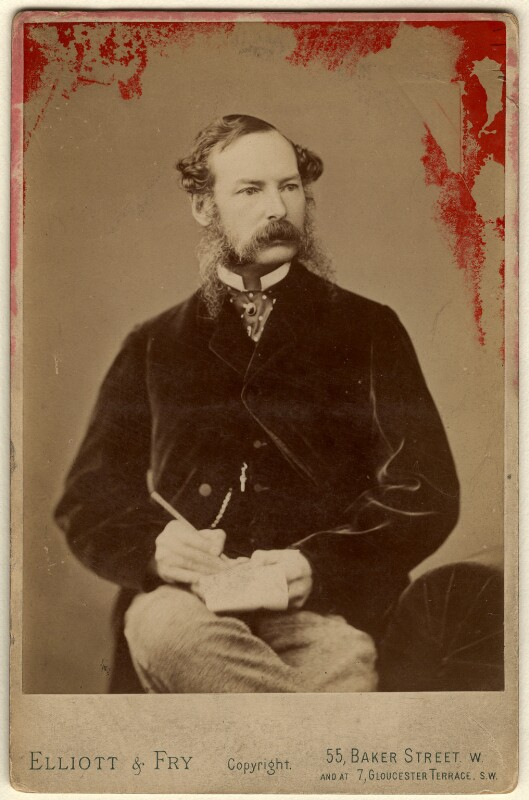Sir John Tenniel, by Elliott & Fry, late 1860s-early 1870s - NPG x6399 - © National Portrait Gallery, London