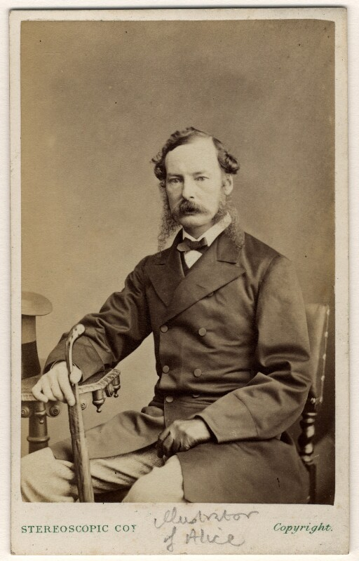 Sir John Tenniel, by London Stereoscopic & Photographic Company, late 1860s-early 1870s - NPG x76458 - © National Portrait Gallery, London