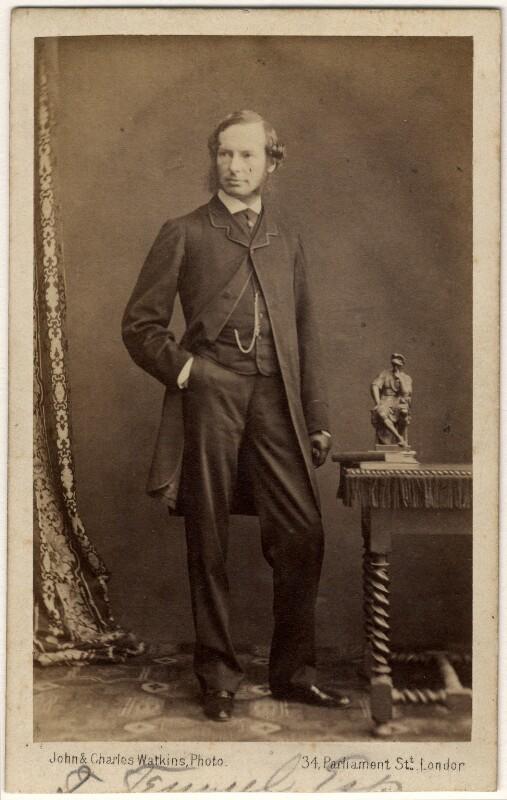 Sir John Tenniel, by John & Charles Watkins, 1862 - NPG x45091 - © National Portrait Gallery, London