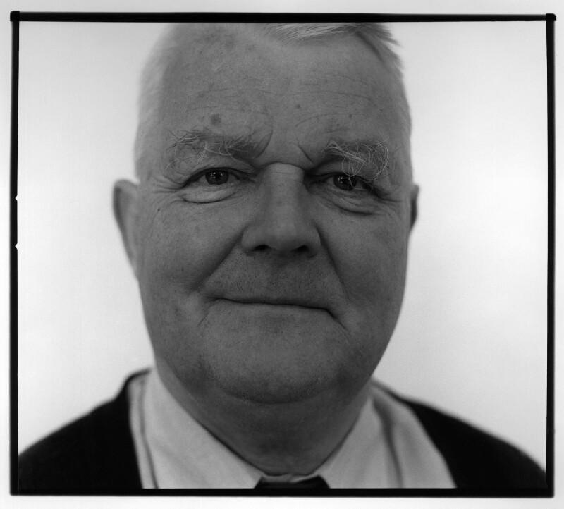 Bruce Kent, by John Arnison, July 2001 - NPG x88999 - © John Arnison / National Portrait Gallery, London