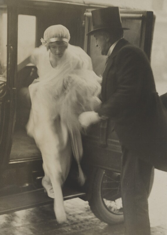Winifred Radford; Robert Radford, by Stop Press Agency, 12 April 1920 - NPG x88963 - © National Portrait Gallery, London