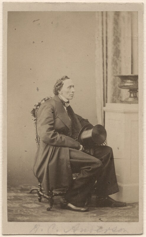 Hans Christian Andersen, by Georg Emil Hansen, 1862 - NPG Ax46261 - © National Portrait Gallery, London