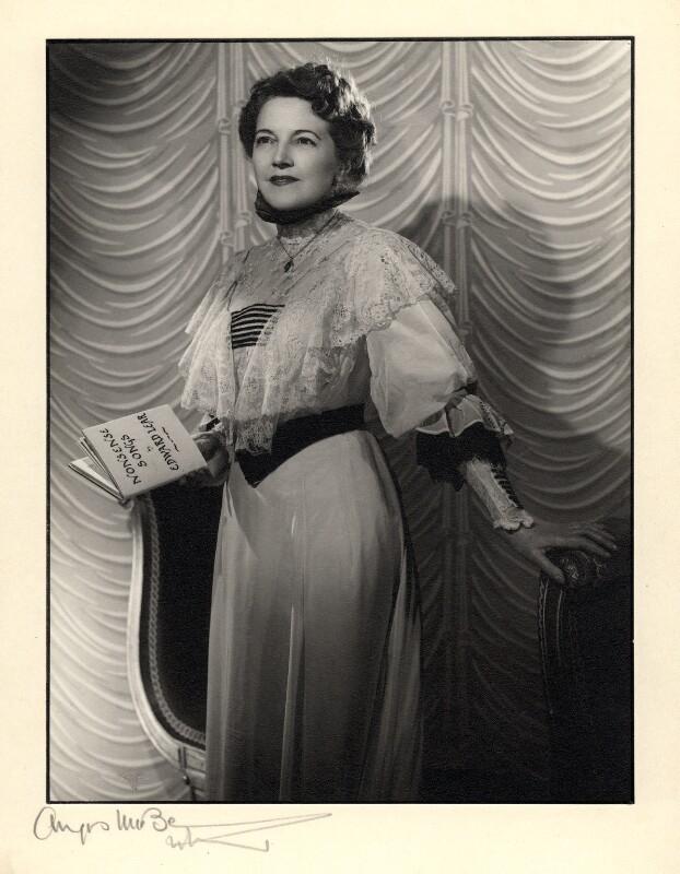 Winifred Radford, by Angus McBean, 1950 - NPG x88981 - Angus McBean Photograph. © Harvard Theatre Collection, Harvard University.
