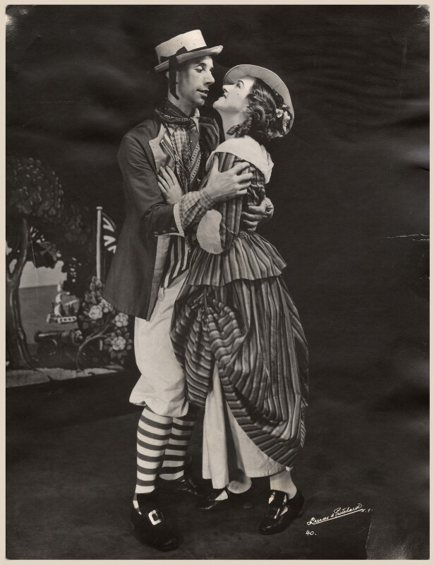 Geoffrey Thomas Dunn; Winifred Radford as John and Molly in 'The Brickdust Man', by Lucas & Pritchard, 1938 - NPG x88974 - © National Portrait Gallery, London