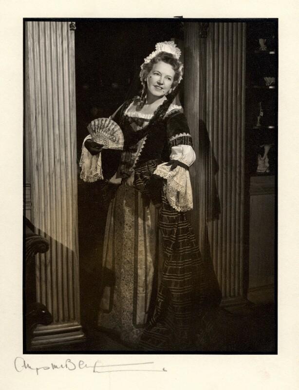 Winifred Radford, by Angus McBean, 1957 - NPG x88976 - Angus McBean Photograph. © Harvard Theatre Collection, Harvard University.