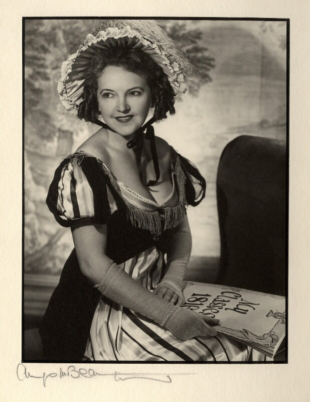 Winifred Radford, by Angus McBean, 1952 - NPG x88979 - Angus McBean Photograph. © Harvard Theatre Collection, Harvard University.