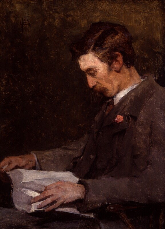 Stanhope Alexander Forbes, by Elizabeth Adela Forbes (née Armstrong), 1901 or before - NPG 6587 - © National Portrait Gallery, London
