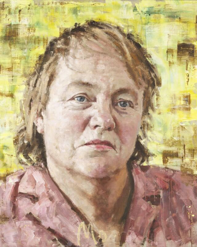 Mo Mowlam, by John Keane, 2001 - NPG 6468 - © National Portrait Gallery, London