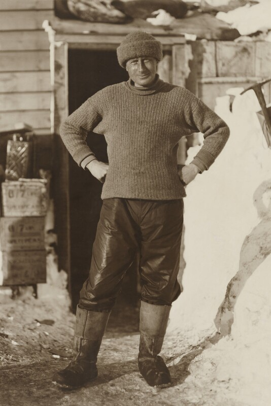 Edward Adrian Wilson, by Herbert George Ponting, 1911 - NPG P881 - © National Portrait Gallery, London