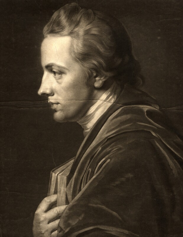 Ozias Humphry, by Valentine Green, after  George Romney, published 1772 (1772) - NPG D1618 - © National Portrait Gallery, London