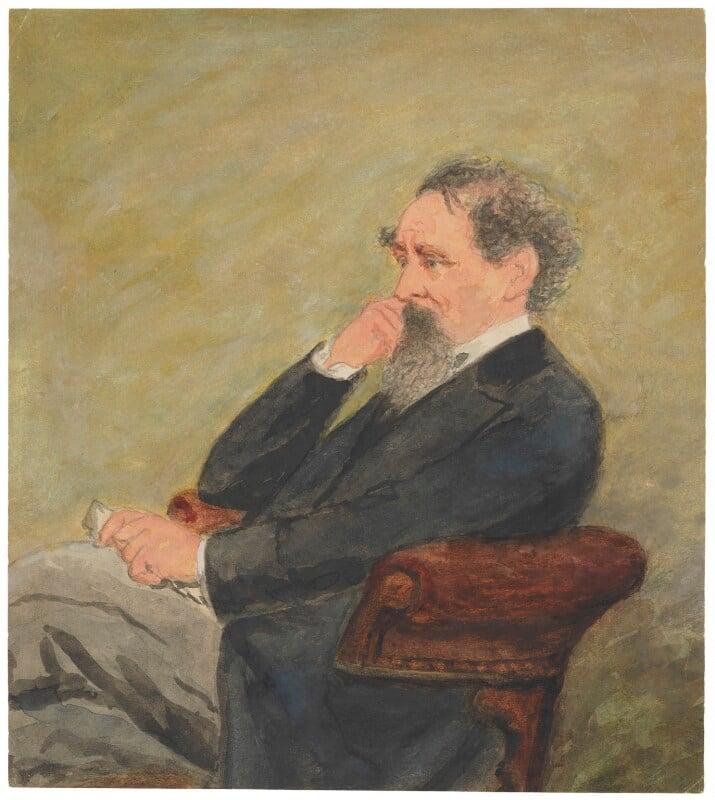 Charles Dickens, after John & Charles Watkins, (1861) - NPG D11149 - © National Portrait Gallery, London