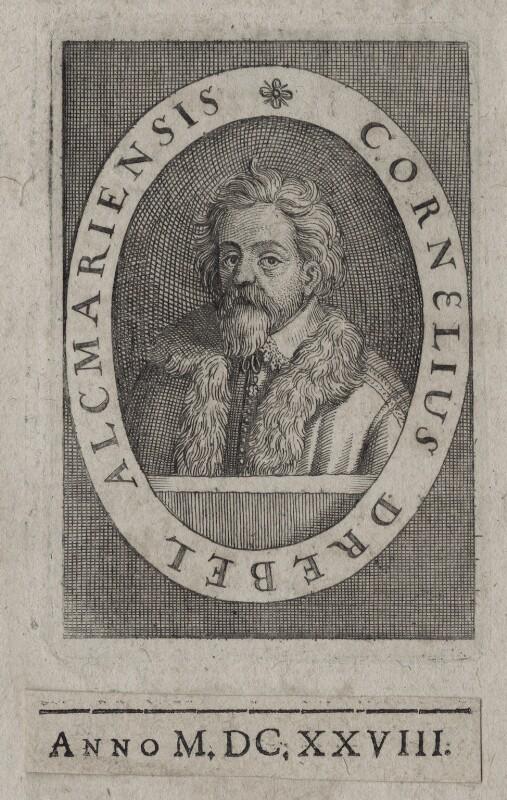 Cornelis Drebbel, by Unknown artist, published 1628 - NPG D11140 - © National Portrait Gallery, London