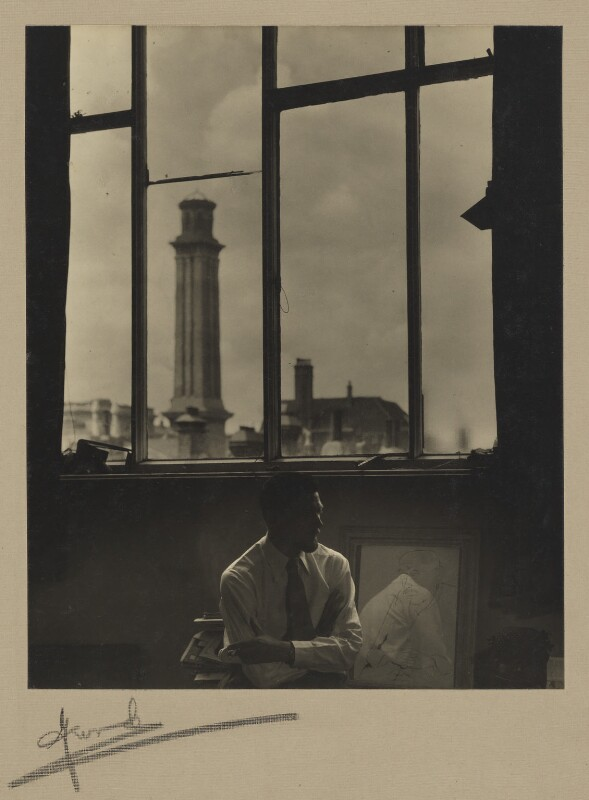 Ronald Searle, by Madame Yevonde, 14 July 1950 - NPG x26388 - © Yevonde Portrait Archive / Mary Evans Picture Library
