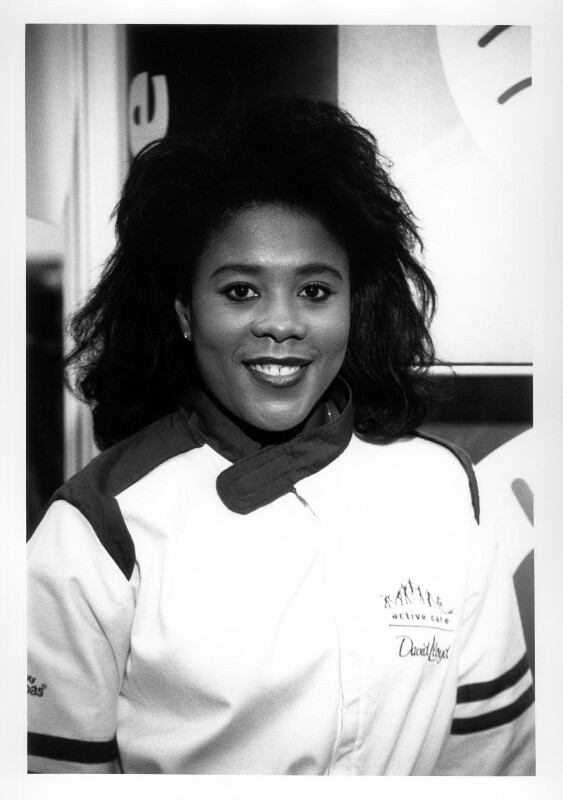 Tessa Sanderson, by Anderson & Low, 1996 - NPG x87580 - © reserved; collection National Portrait Gallery, London