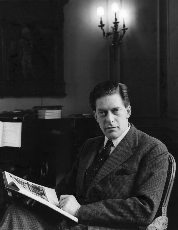 George Lascelles, 7th Earl of Harewood, by Ida Kar, published 1961 - NPG x18504 - © National Portrait Gallery, London