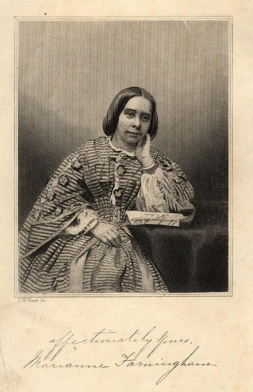Marianne Farningham (Mary Anne Hearn), by Thomas Williams Hunt, late 19th century - NPG D11177 - © National Portrait Gallery, London