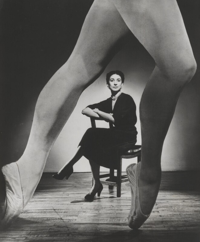 Margot Fonteyn, by Angus McBean, 1951 - NPG P894 - Angus McBean Photograph. © Harvard Theatre Collection, Harvard University.