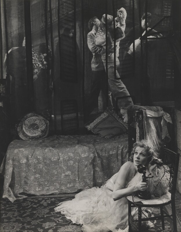 Vivien Leigh as Blanche DuBois in 'A Streetcar Named Desire', by Angus McBean, October 1949 - NPG P902 - Angus McBean Photograph. © Harvard Theatre Collection, Harvard University.