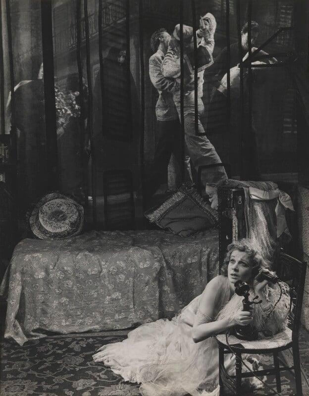 Vivien Leigh as Blanche DuBois in 'A Streetcar Named Desire', by Angus McBean, October 1949 - NPG P902 - Angus McBean Photograph. © Harvard Theatre Collection, Harvard University.