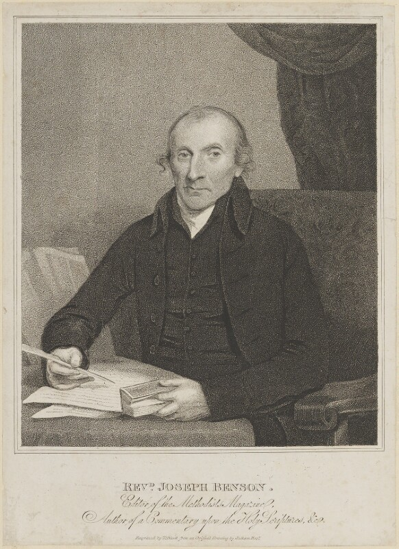 Joseph Benson, by Thomas Blood, after  John Jackson, 1810s - NPG D11199 - © National Portrait Gallery, London