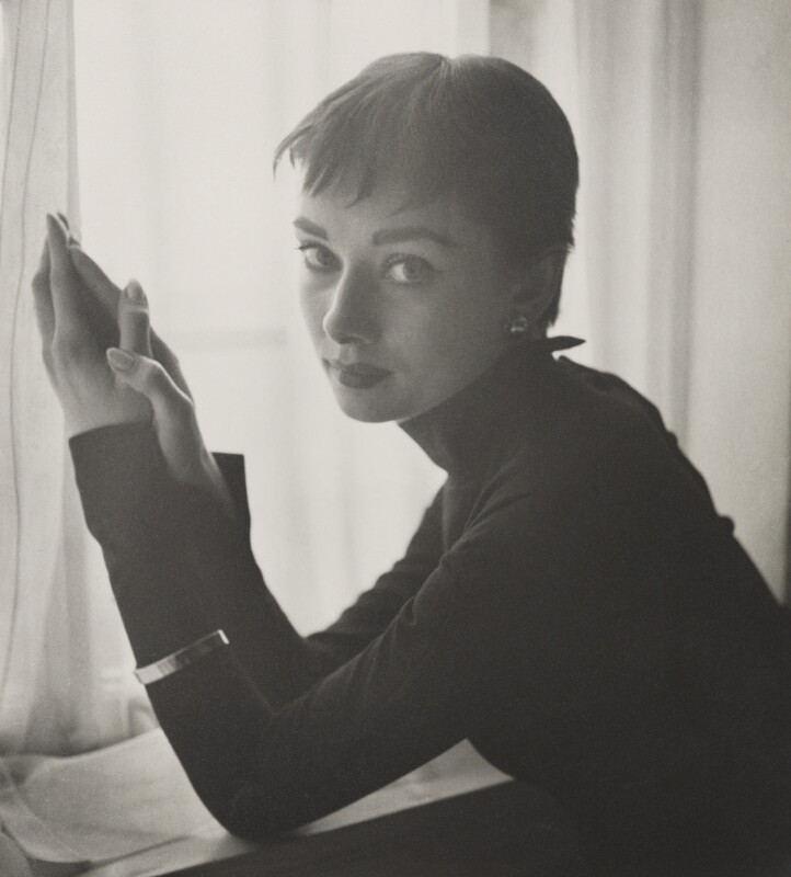 Audrey Hepburn, by Cecil Beaton, March 1954 - NPG x40179 - © Cecil Beaton Studio Archive, Sotheby's London