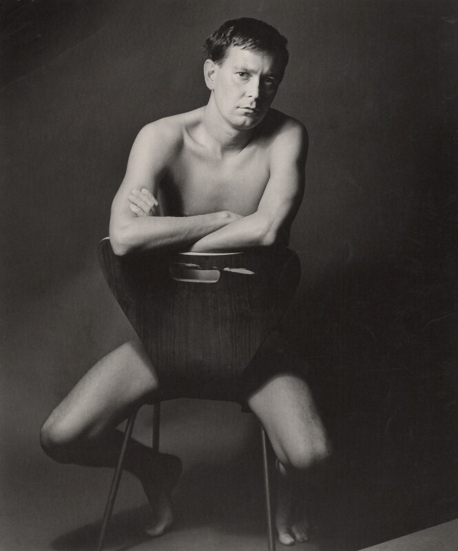 Joe Orton, by Lewis Morley, 1965 - NPG x24966 - © Lewis Morley Archive / National Portrait Gallery, London