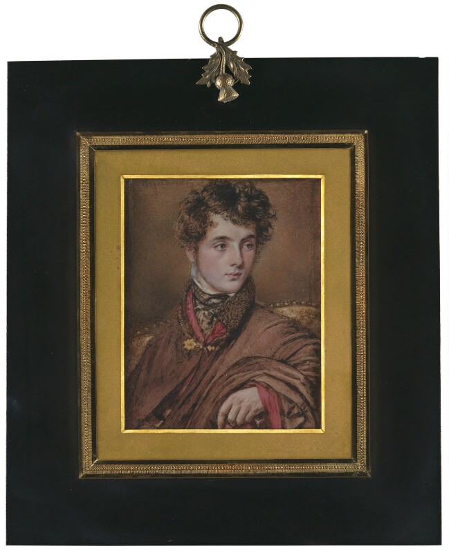 Francis Egerton, 1st Earl of Ellesmere, by John Linnell, 1820 - NPG 6594 - © National Portrait Gallery, London