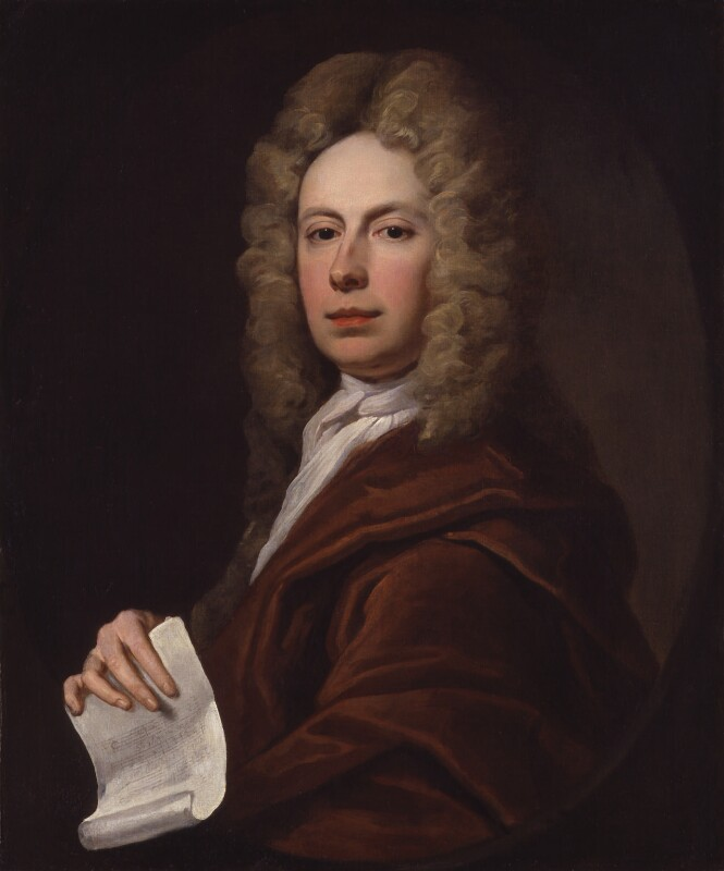 Richard Leveridge, by Unknown artist, circa 1710-1720 - NPG 6596 - © National Portrait Gallery, London