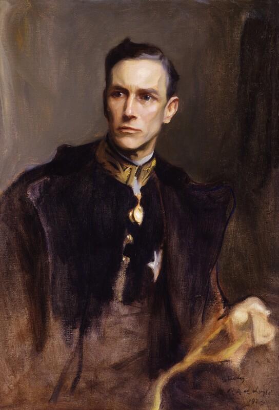 John Loader Maffey, 1st Baron Rugby, by Philip Alexius de László, 1923 - NPG 6597 - © National Portrait Gallery, London