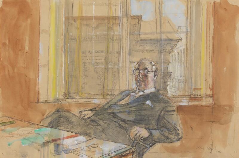 Sir Henry Neville Lindley Keswick, by John Stanton Ward, 2001 - NPG 6602 - © National Portrait Gallery, London