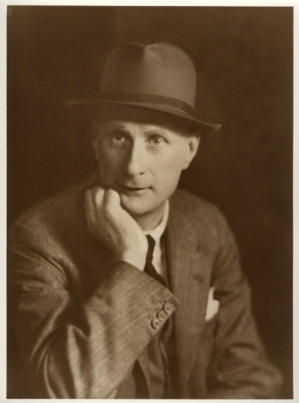 L.S. Lowry, by Elliott & Fry, late 1920s - NPG x21176 - © National Portrait Gallery, London