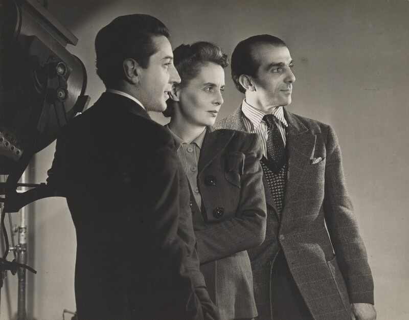 Sir Frederick Ashton; Ninette de Valois; Léonide Massine, by Angus McBean, 1946 - NPG P911 - Angus McBean Photograph. © Harvard Theatre Collection, Harvard University.