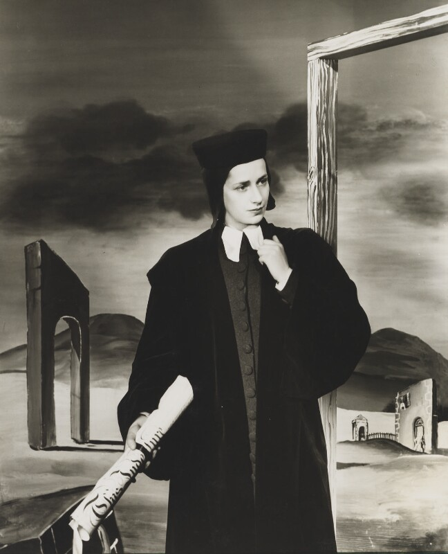 Dame Peggy Ashcroft, by Angus McBean, 1938 - NPG P913 - Angus McBean Photograph. © Harvard Theatre Collection, Harvard University.
